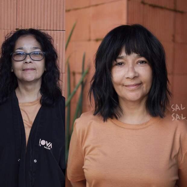 Рваные стрижки 2020 для женщин после 50 лет фото 4