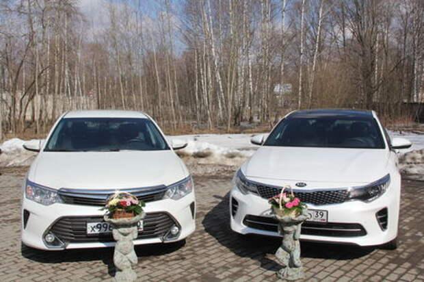 Kia Optima против Toyota Camry: слепой тест