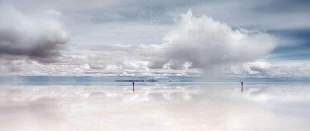Иллюзия хождения по воде