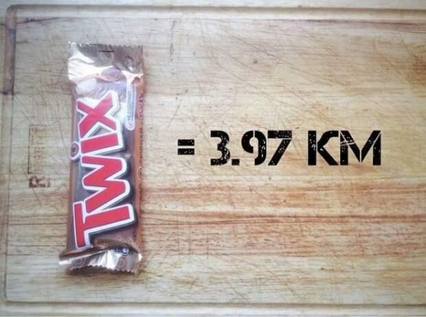 Шоколадка Твикс бег, еда, каллории