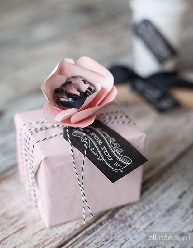 Необычные упаковки подарков