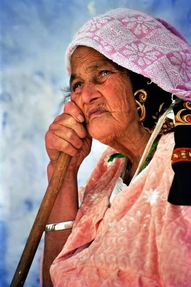 Портрет женщины из Шавена, Марокко вокруг света, путешествия, фотография