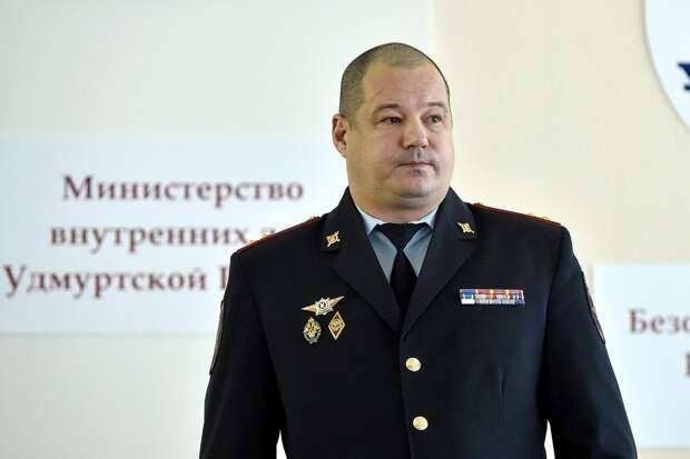 Министру внутренних дел по Удмуртии присвоили звание генерал-майора