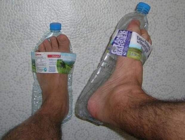 7.  пластиковые бутылки, сделай сам