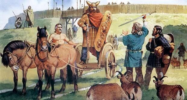 Кельтские колесницы