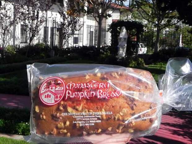 Тыквенный хлеб. / Фото: www.yelp.com
