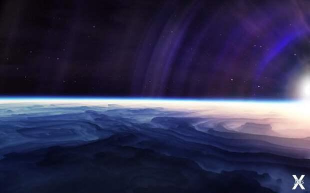 Круговорот стекла в природе на далёкой голубой планете