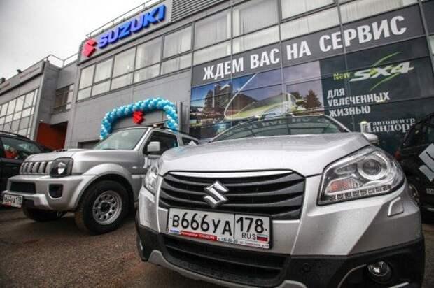 New Suzuki dealership opens in St Petersburg