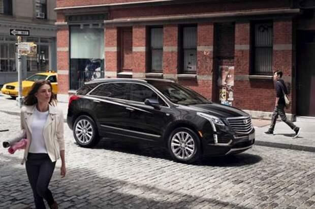 Cadillac XT5 приехал покорять Россию