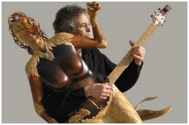 Сумасшедшие гитары для сумасшедших гитаристов
