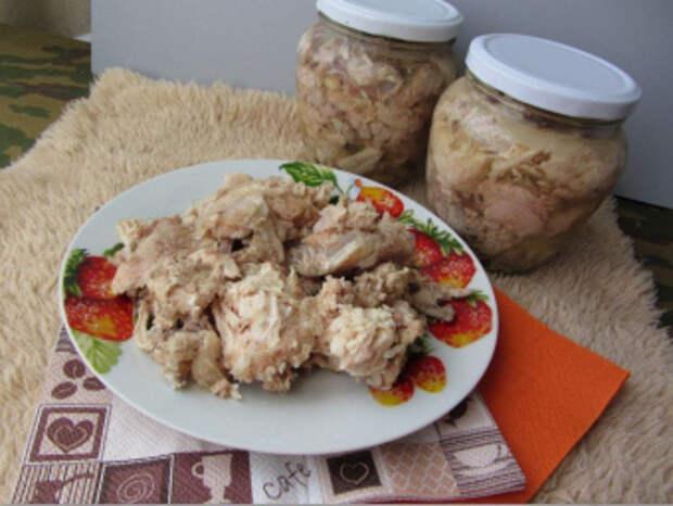 Секреты приготовления вкусной тушенки из курицы в домашних условиях