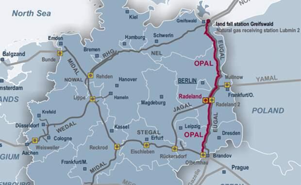 Суд отказал Германии загрузить продолжение «Северного потока» по полной