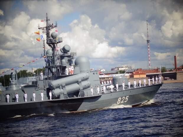 Военно-морской парад в честь Дня ВМФ в Санкт-Петербурге, 26 июля 2020 г. Фото: Дмитрий Павленко, News Front