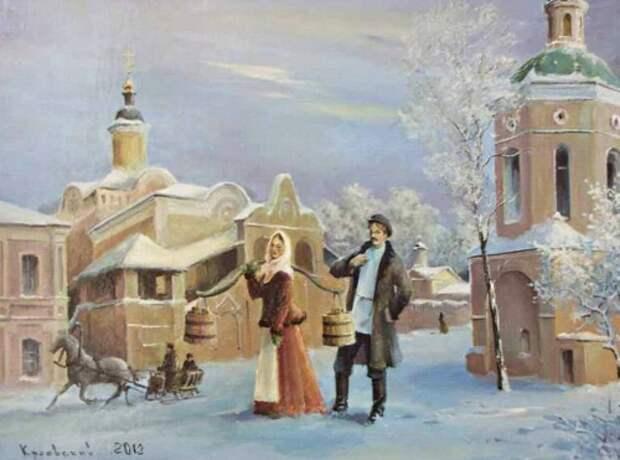 художник Владимир Краевский картины – 21