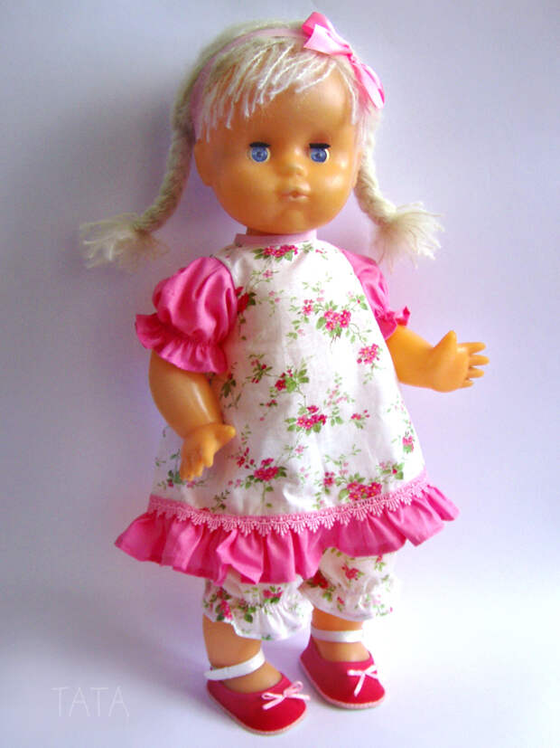 Из страшила в красавицу — новая жизнь старой куклы