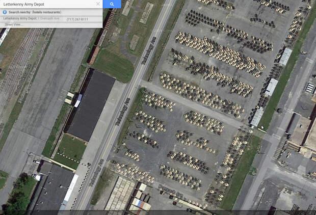 letterkenny army depot, военная техника, бункер|Фото: allnewspipeline.com