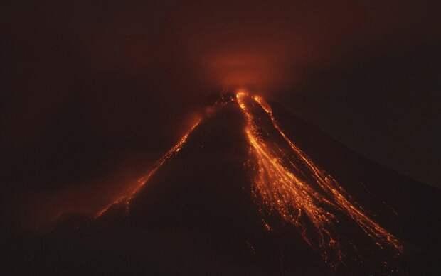 Извержения вулканов в 2015 году