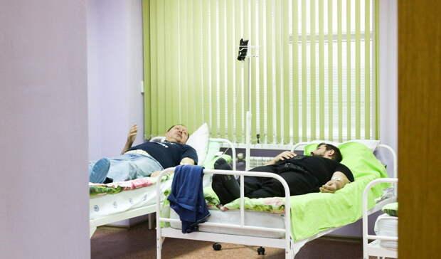76 человек скоронавирусом лечатся вТобольской областной больнице №3