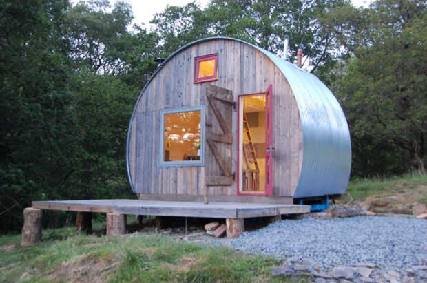 Уютные жилые домики.