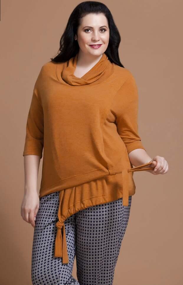 Необычный пуловер