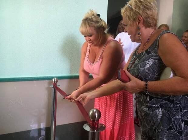 В Херсоне торжественно открыли туалет