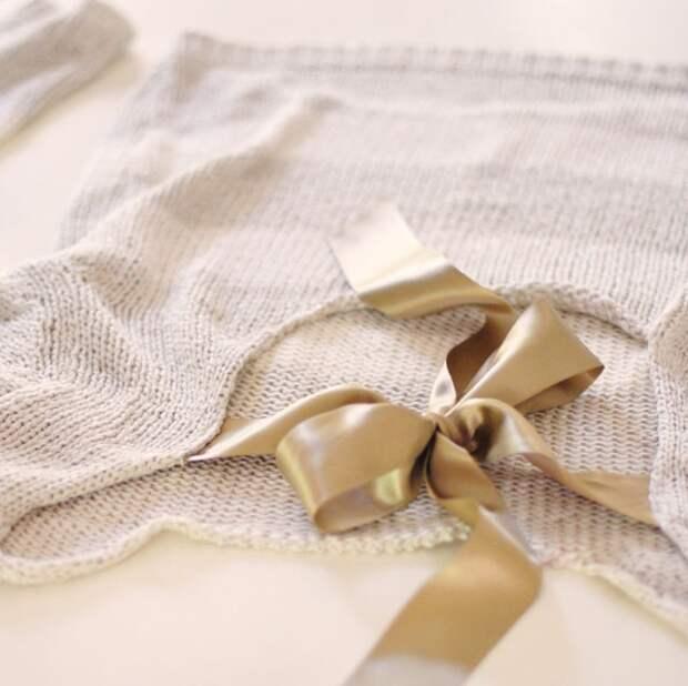 Переделка свитера с лентой (Diy)