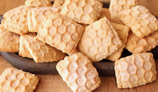 Рецепт быстрого медового печенья
