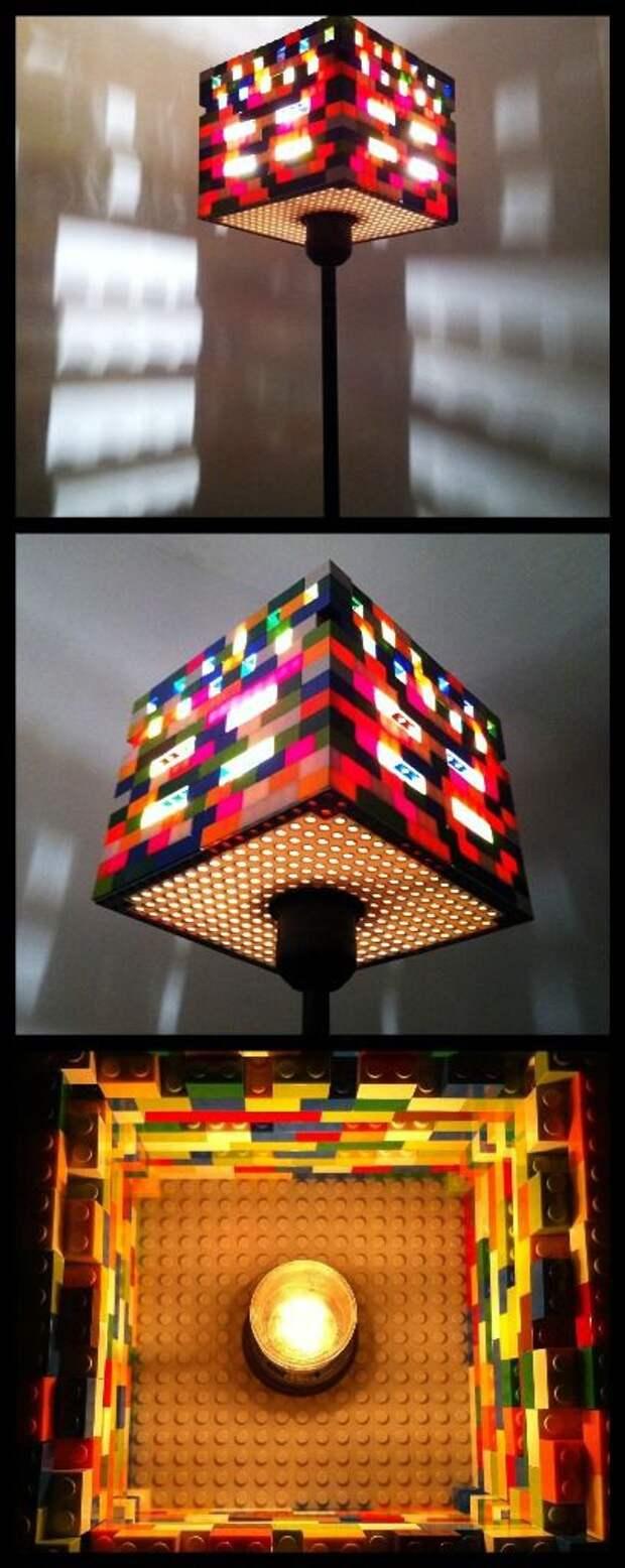 Lego лампа