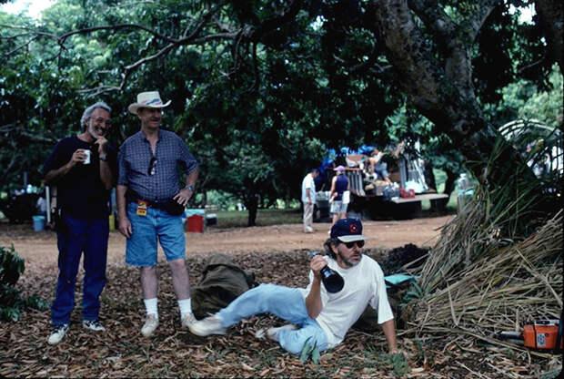 Как снимался фильм «Парк Юрского периода»