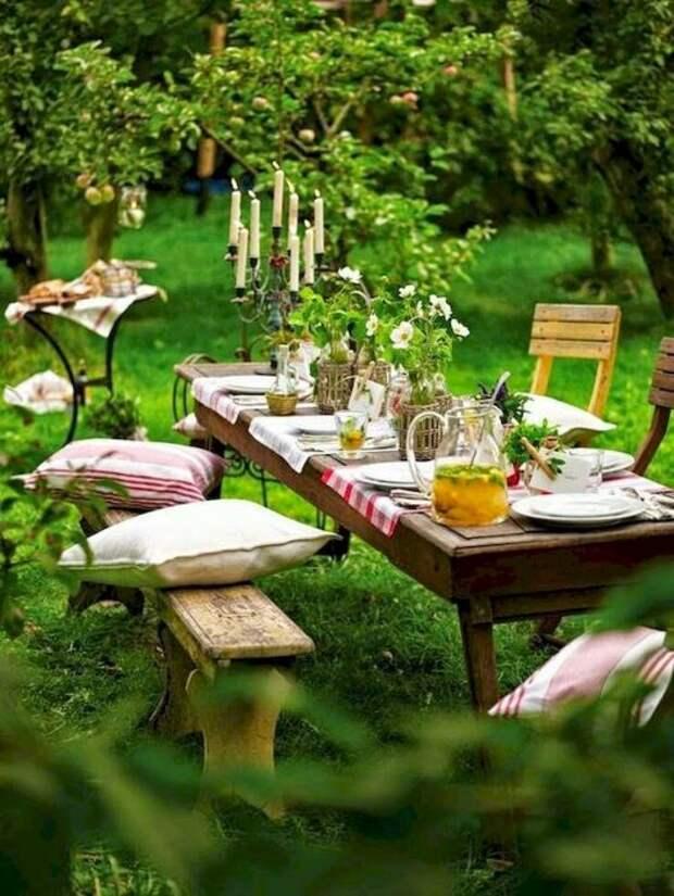 Приятная и успокаивающая атмосфера способствуют хорошему аппетиту. /Фото: googodecor.com