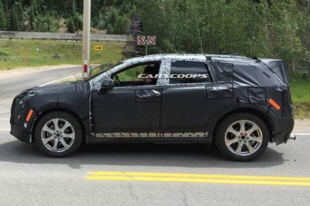 Cadillac тестирует новый кроссовер XT5