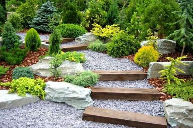 Идеи садовых дорожек - фото 2