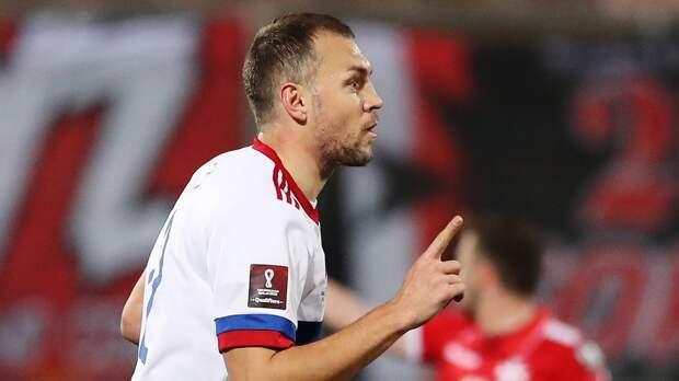 Дзюба обошел по голам за сборную Бесчастных и отстает только от Кержакова. Кому и сколько они забивали