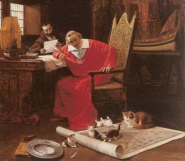 Коты Кардинала