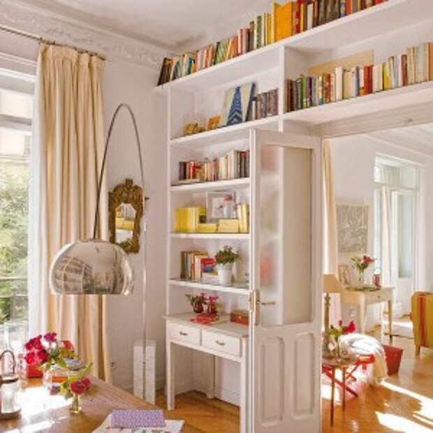 Дополнительные резервы пространства для хранения. 16 полезных советов