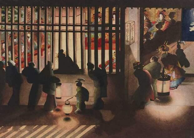 Японская художница Кацусика Ои