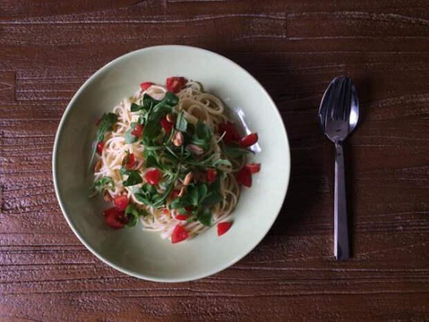 Все люди любят спагетти, но никому в голову не пришла эта революционная идея!