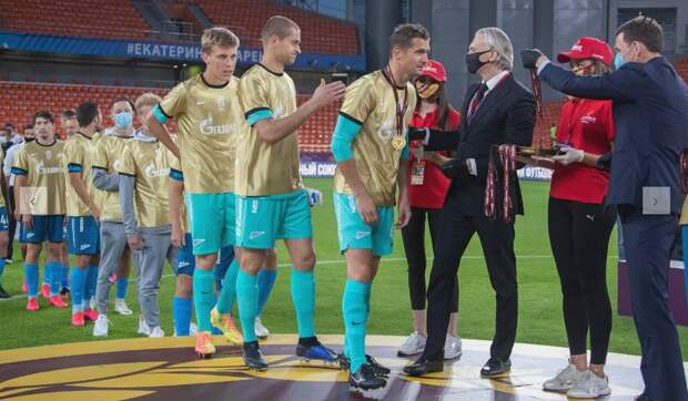 В матче за Кубок России по футболу победил «Зенит»