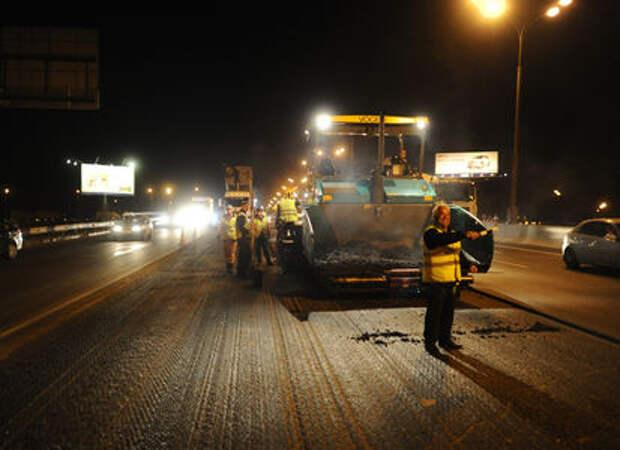 Москва примется ремонтировать дороги в ночь на пятницу