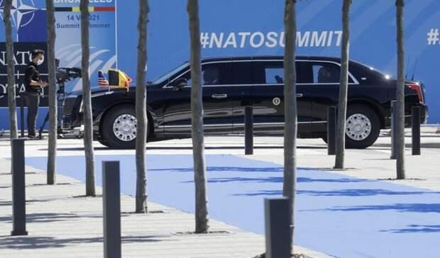 Cadillac vs Aurus: на чем приехали на саммит Байден и Путин