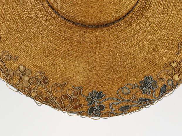 История шляпки из флорентийской соломки