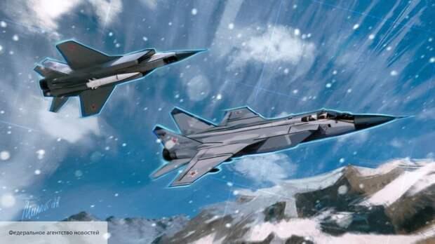 В Китае рассказали о рекорде МиГ-31, который не по зубам истребителям США