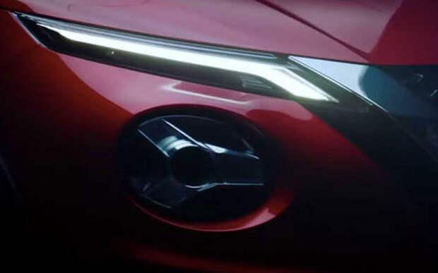 Новое видео нового Nissan Juke — только не моргай!
