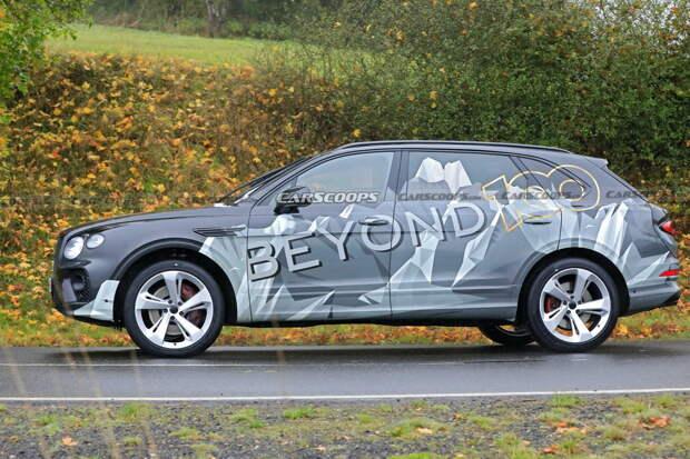Bentley готовится к премьере кроссовера-лимузина
