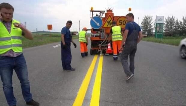 На дорогах стали появляться «двойные сплошные» жёлтого цвета. Узнал, что они означают