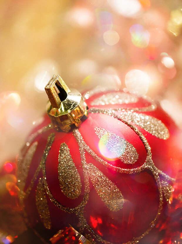 Праздничное боке: создаем новогоднее настроение