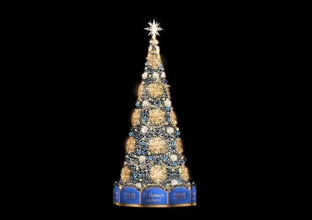 Как будет выглядеть новогодняя елка Симферополя