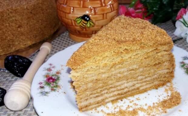 Вкусный торт за 30 минут. Простой рецепт без раскатки коржей
