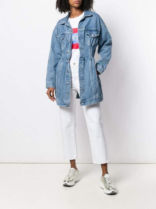 Как приталить джинсовку