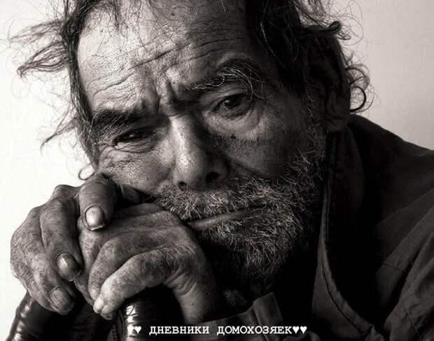 Один старый мужчина переехал жить к своему сыну, невестке и четырехлетнему внуку.